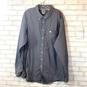 Cinch button down shirt size XXL